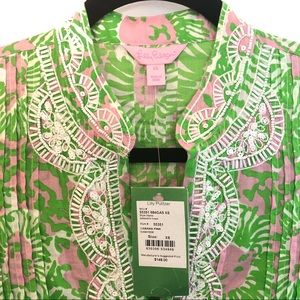 NWT Lilly Pulitzer Sarasota Tunic In XS